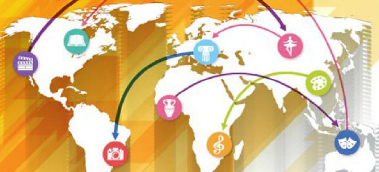 A China é o país líder na exportação de bens culturais, totalizando mais de US$ 60 bilhões em 2013.Imagem: Unesco