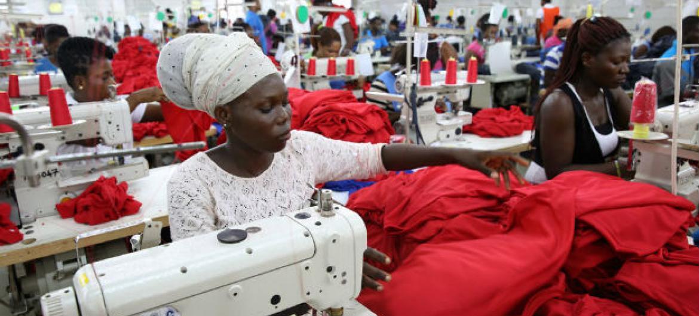A atividade económica na África Subsaariana desacelerou no ano passado. Foto: Banco Mundial/Dominic Chavez