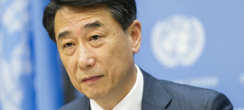 Oh Joon, presidente do Ecosoc. Foto: ONU/Mark Garten