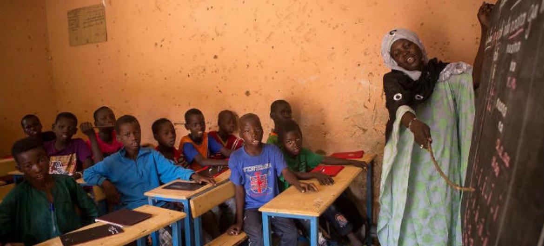 Crianças em uma escola no Mali. Foto: Unicef/Harandane Dicko