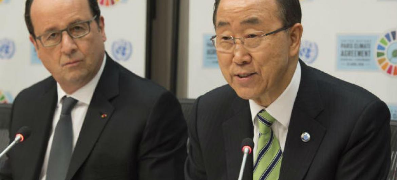 Ban Ki-moon afirmou que os países fizeram um pacto com o futuro.Foto: ONU/Eskinder Debebe