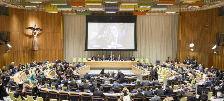 Conselho de Tutela na sede da ONU, em Nova York. Foto: ONU/Rick Bajornas