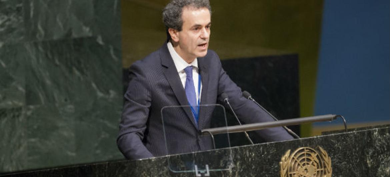 Fernando Araújo. Foto: ONU/Loey Felipe