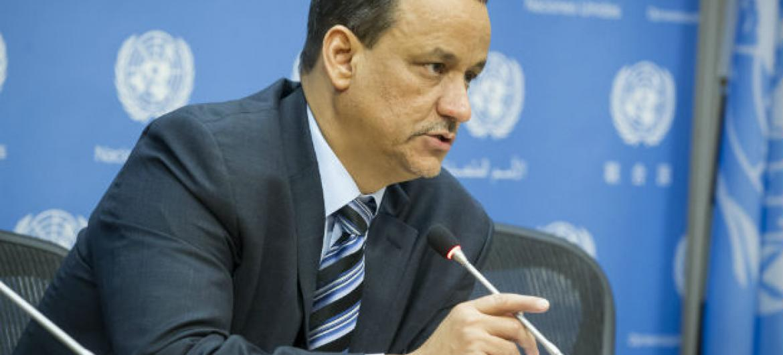 Ismail Ould Cheikh Ahmed.Foto: ONU/Loey Felipe