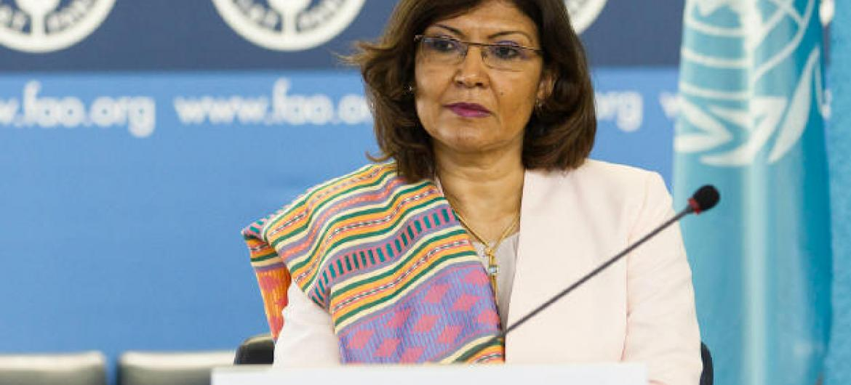 Maria Helena Semedo. Foto: FAO/Roberto Cenciarelli