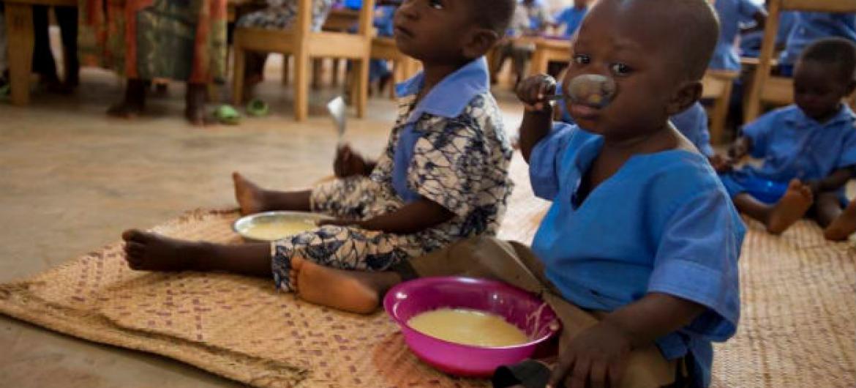 Três quartos das crianças com nanismo estão em países afetados por confrontos. Foto: PMA