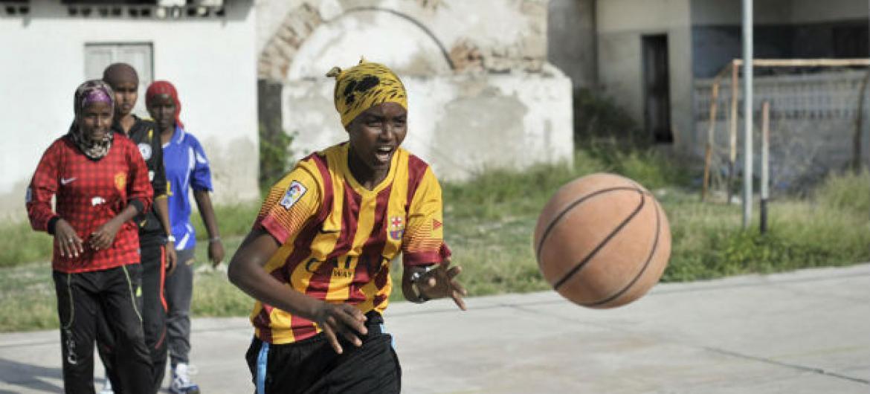 Dia Internacional do Esporte para o Desenvolvimento e a Paz.Foto: ONU/Tobin Jones