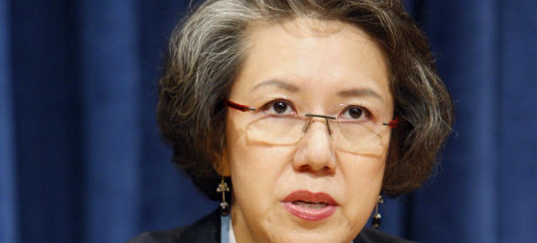 A relatora especial da ONU sobre os direitos humanos no Mianmar,Yanghee Lee.Foto: ONU/JC McIlwaine