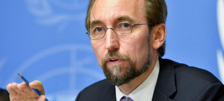 Alto comissário da ONU para os Direitos Humanos, Zeid Ra'ad Al Hussein. Foto: ONU/Jean-Marc Ferré