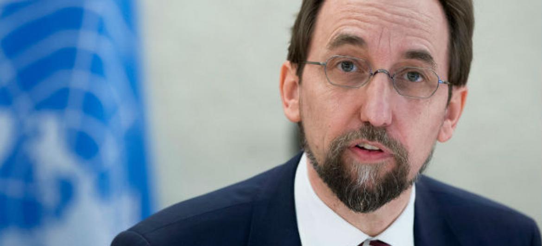 Alto comissário para os Direitos Humanos, Zeid Al Hussein, durante a 31ª sessão do Conselho de Direitos Humanos em Genebra. Foto: ONU/Jean-Marc Ferré