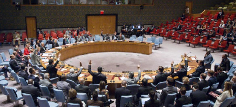 Documento foi aprovado por unanimidade nesta quarta-feira no Conselho de Segurança da ONU. Foto: ONU/Manuel Elias
