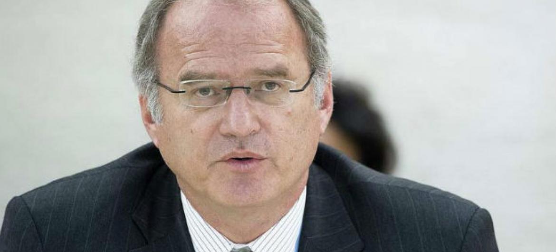 Relator sobre execuções sumárias, Christof Heyns.Foto: ONU/Jean-Marc Ferré