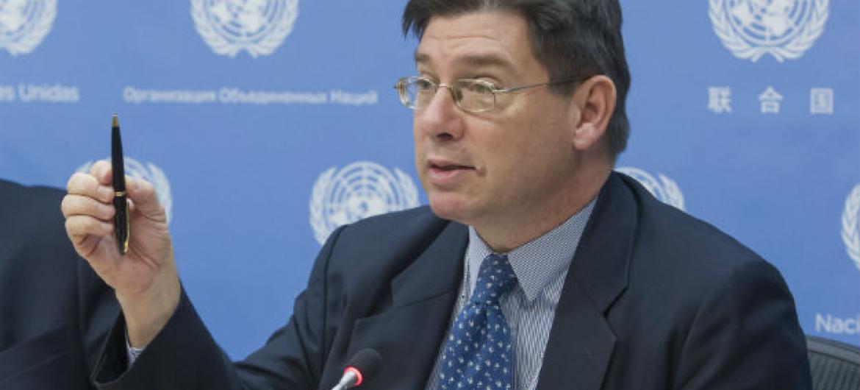 François Crépeau. Foto: ONU/Loey Felipe