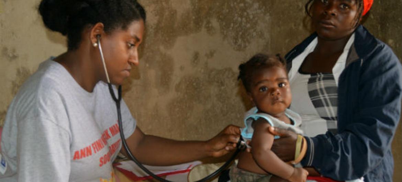 Combater e controlar a cólera no Haiti. Foto: Unfpa/Haiti.