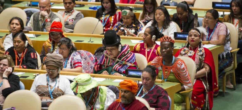 15ª sessão do Fórum Permanente sobre Questões Indígenas.Foto: ONU/Rick Bajornas