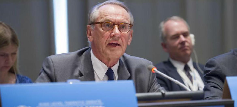 Vice-secretário-geral das Nações Unidas,Jan Eliasson. Foto: ONU/Rick Bajornas