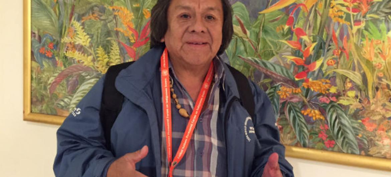 Marcos Terena. Foto: Rádio ONU