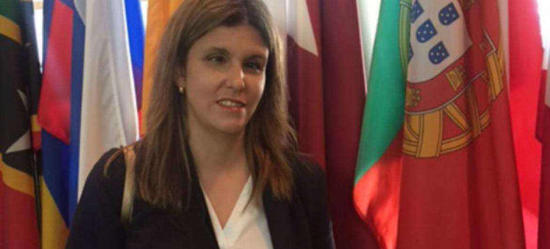 Ana Sofia Antunes. Foto: ONU News