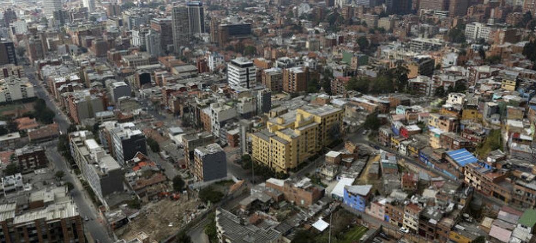 Bogotá, capital da Colômbia. Foto: Banco Mundial