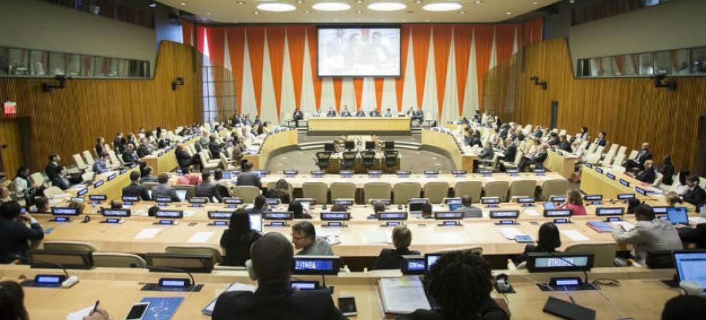 Conselho Econômico e Social das Nações Unidas. Foto: ONU/Manuel Elias