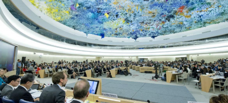 Conselho de Direitos Humanos em Genebra. Foto: ONU/Jean-Marc Ferré
