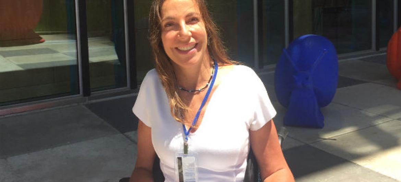 Mara Gabrilli. Foto: Rádio ONU