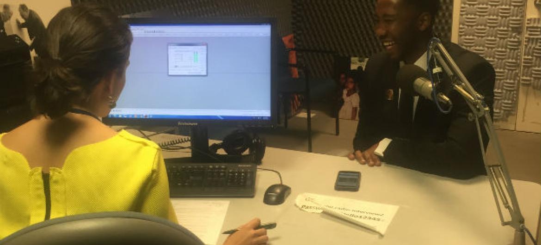 Ndaba Mandela, em entrevista à Rádio ONU.