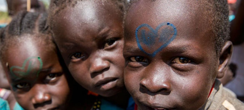 Crianças em Juba, no Sudão do SUl. Foto: ONU/JC McIlwaine