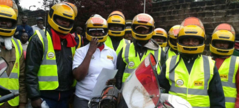 Mais de 10,2 mil mototaxistas fizeram teste de HIV em Nairobi. Foto: Onusida