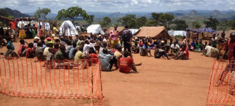 Refugiados moçambicanos em acampamento no Malaui. Foto: Acnur/M. Mapila