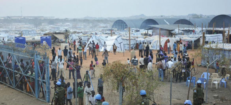 Instalações das Nações Unidas em Juba, no Sudão do Sul. Foto: ONU/Isaac Billy (arquivo)