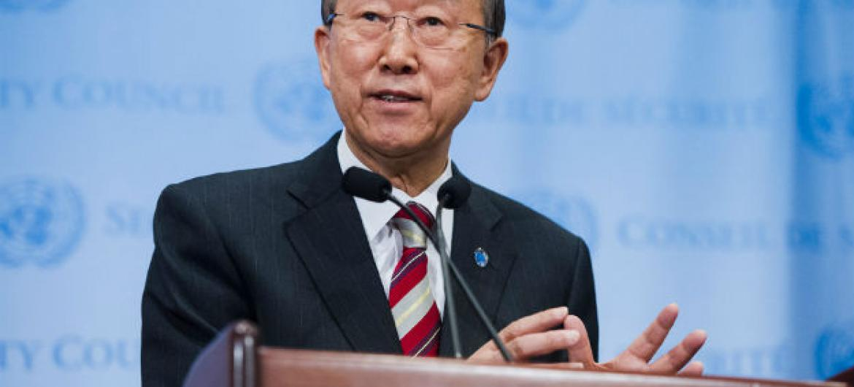 Ban Ki-moon. Foto: ONU/Amanda Voisard (arquivo)