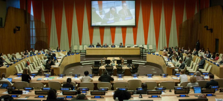 Reunião acontece no Conselho Econômico e Social da ONU, Ecosoc. Foto: ONU/Loey Felipe (arquivo)