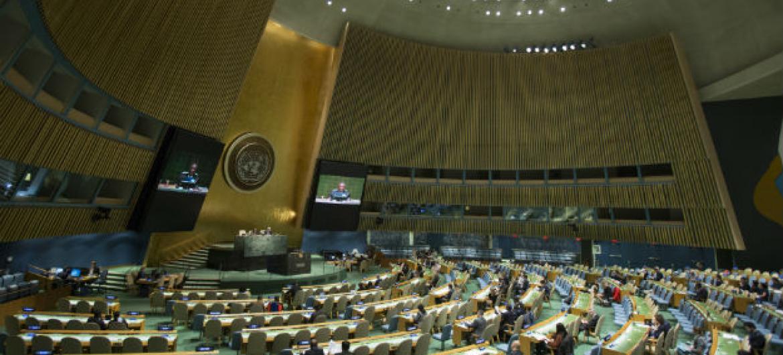 Assembleia Geral da ONU. Foto: ONU/Manuel Elias