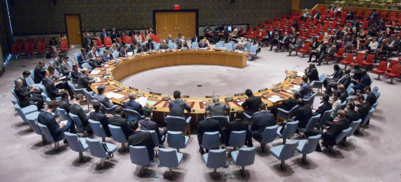 Membros do Conselho de Segurança. Foto: ONU/Manuel Elias (arquivo)