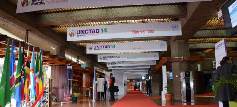 Unctad14 está a acontecer em Nairobi, no Quénia. Foto: Unctad/Joseph Kiptarus