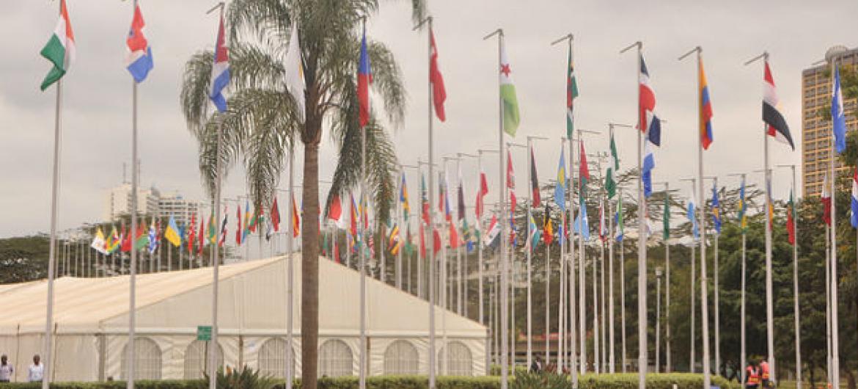 A 14ª Conferência das Nações Unidas sobre o Desenvolvimento e Comércio,Unctad14, acontece e Nairobi, no Quénia. Foto: Unctad/Joseph Kiptarus