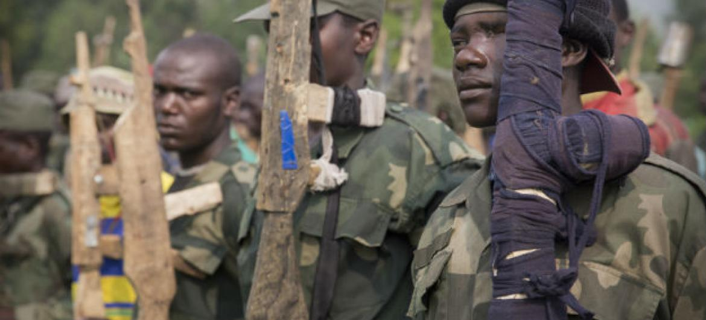 Ex-combatente na República Democrática do Congo. Foto: ONU/Sylvain Liechti (arquivo)