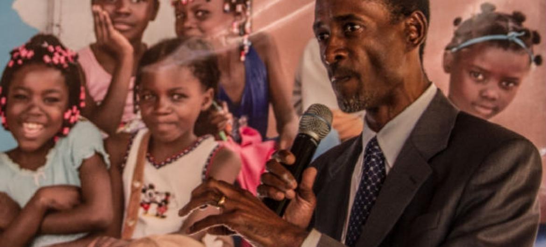 Francisco Songane. Foto: Unicef Angola