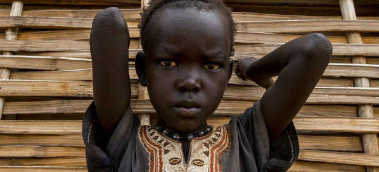 Criança no Sudão do Sul. Foto: ONU/JC McIlwaine