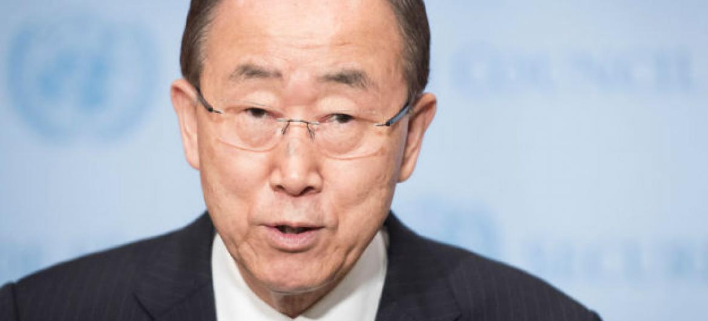 Ban Ki-moon, secretário-geral da ONU. Foto: ONU/Mark Garten