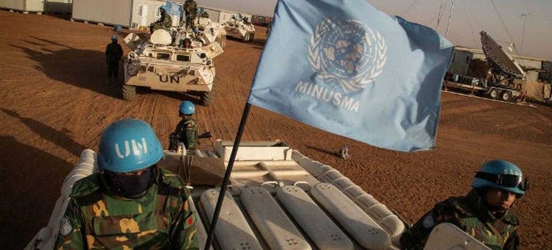 Tropas das Nações Unidas no Mali. Foto: Minusma/Marco Dormino