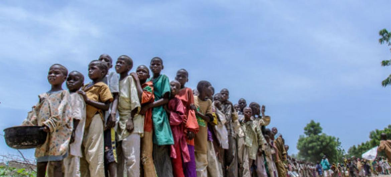 Cerca de 1 milhão de crianças foram deslocadas em todo o nordeste.Foto: Unicef/Andrew Esiebo