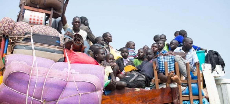 Unicef teme que novo conflito coloque dezenas de milhares de menores em risco cada vez maior.Foto: Acnur/Will Swanson.