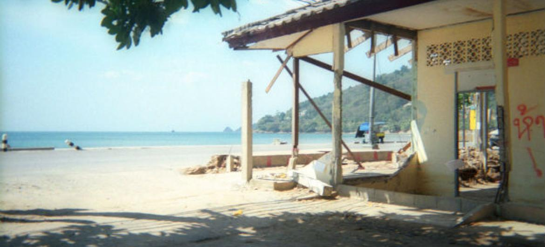Uma praia na província de Phuket, na Tailândia. Foto: Unicef/Panadda Srikotcha