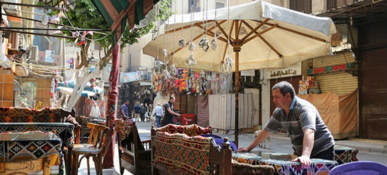 Cairo, no Egito. Foto: Banco Mundial/Dominic Chavez
