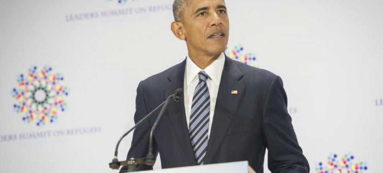 Barack Obama. Foto: ONU/Rick Bajornas