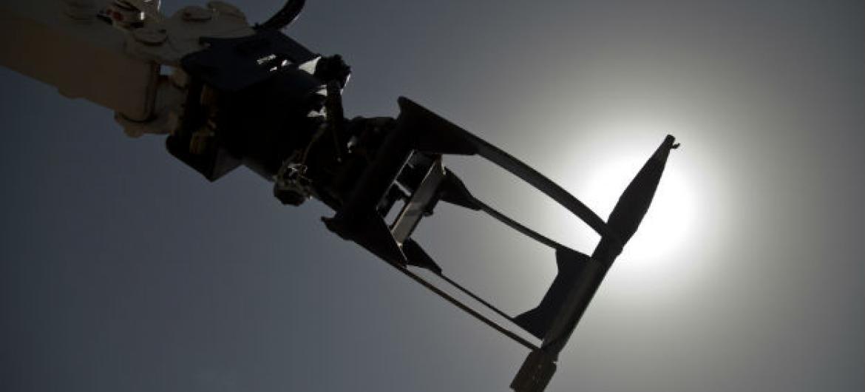 Robô usado para desarmar explosivos. Foto: ONU/Marco Dormino