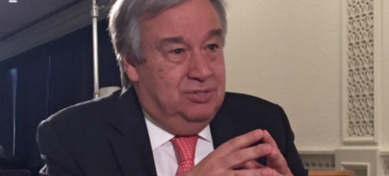 António Guterres. Foto: Denise Costa/Rádio ONU