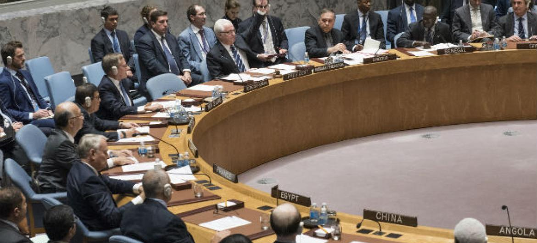 Rússia vetou uma resolução neste sábado no Conselho de Segurança. Foto: ONU/Cia Pak.